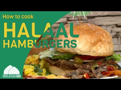 Cooking Recipe - Halaal Hamburgers - English