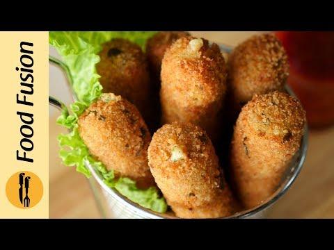 [Quick Recipes] Chicken Mozzarella Sticks - English Urdu
