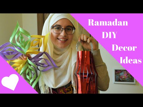 DIY Decoration Ideas : RAMADAN EDITION - English