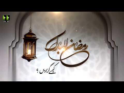[Clip]ماہ رمضان المبارک کیسے گزاریں ؟ | Ali Murtaza Zaidi, Rehber Inqalab Islami Khamenei - Ur