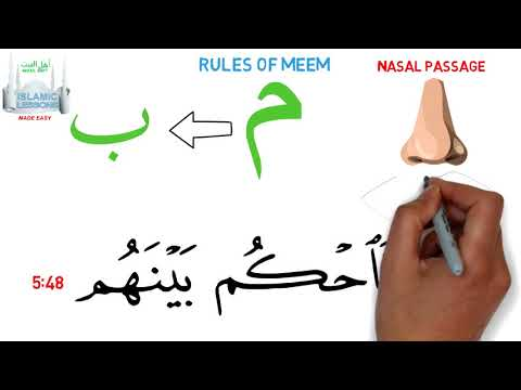 Tajweed in Minutes - The Letter Meem