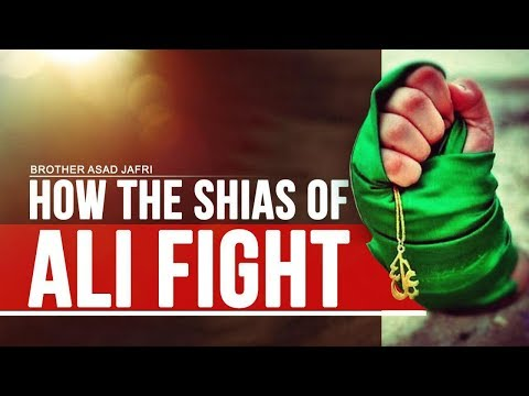 How the Shias of Ali Fight | Brother Asad Jafri | English
