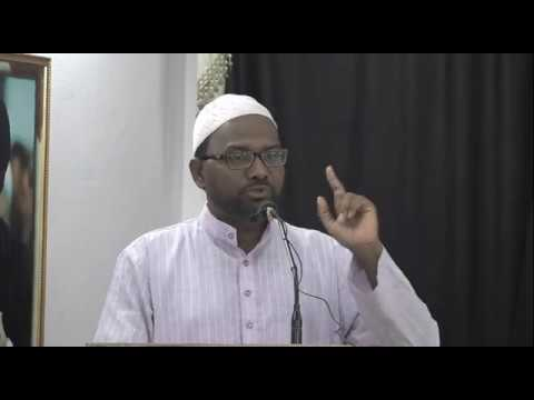 Protest Against Demolition of Jannat ul-Baqi | Moulana Mohammed Abbas Masood - Urdu