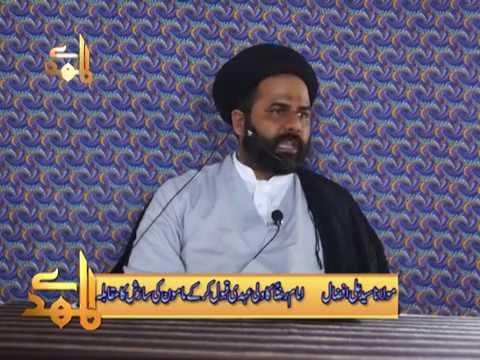 Imam Raza Ne Wali Ehdi Qabul Ker K Mamoon Ki Sazish Ka Muqabla Kese Kiya - H.I Ali Afzal Rizvi - Urdu