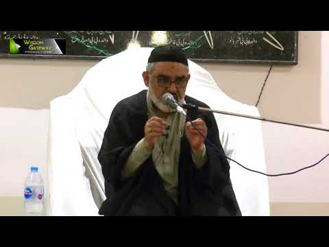 [Day 2] Topic: امامت کی امانت اور مومن کی شرائط | H.I Ali Murtaza Zaidi - Urdu
