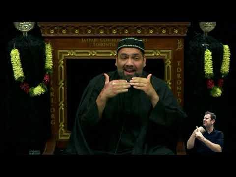 [06.Majlis] Topic: Illumination of The Inner Light - Syed Asad Jafri Muharram 1440 218 Toronto Canada English