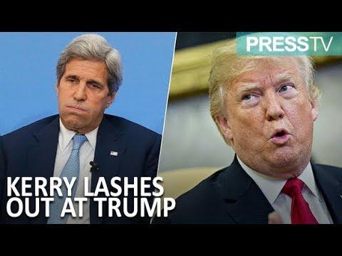 [16 September 2018] Trump has 'insecurity of a teenage girl': John Kerry  - English
