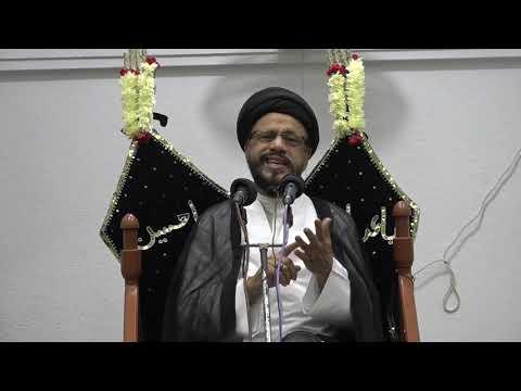 4th Majlis Shab 3rd Muharram 1440/13.09.2018 Topic:Maximizing the Potential in Our Children By H I Syed Zaki Baqri-Urdu