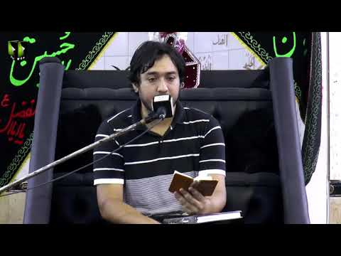 [Salaam] Haey Hussain (as) - ہائے حسینؑ | Br. Syed Abuzar Zaidi - Muharram 1440-Urdu