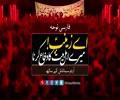 Farsi sub Urdu | اے زینبؑ میرے اہل بیتؑ کا دفاع کرنا