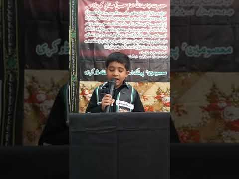 [Hussain Day 1440 Hijra ] O My Asghar - Noha M.Mohsin Mehdi-English