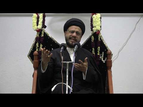 Majlis Shab 12th Muharram 1440/22.09.2018 Topic:Maximizing the Potential in Our Children By H I Syed Zaki Baqri-Urdu