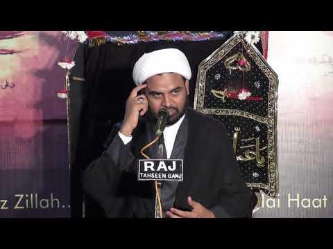 Majlis 7th Muharram 2017 , Jama Masjid-Lucknow, Agha Akhtar Abbas Jaun (HD) - Urdu