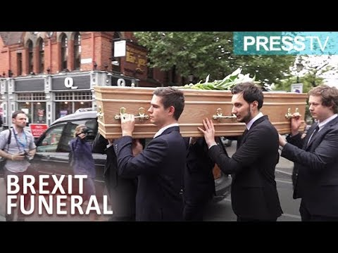 [3 October 2018] Brexit Funeral takes place in Birmingham! - English