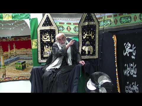 Majlis Roz-E-Ashur 10th Moharram 1440 Hijari September 2018 By Molana Haider Ali Jawadi at Buturab Society of Hamilton-U