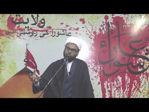 #6 Agha Akthar Abbas Jaun  Topic:Wilayath - Ashura Ki Roshni Me - Urdu