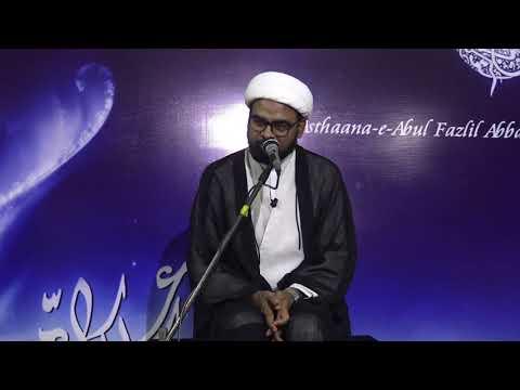 7th Majlis-E-Aza Topic: ALAVI DAUR-E-HUKUMATH MEIN AMEERUL MOMINEEN(A.S) KA KIRDAAR By H I Akhtar Abbas Jaun-Urd