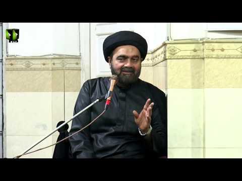 [01] Topic: علم امام حسن ؑ اور تعبیر خواب | H.I Muhammad Ali Naqvi | Muharram 1440 - Urdu