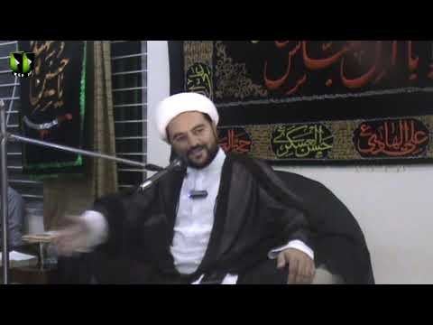 [08] Topic: Aima Ahl e bait(A) ki Siyasi o Fikri Zindagi | H.I Muhammad Nawaz  | 1440 - Urdu