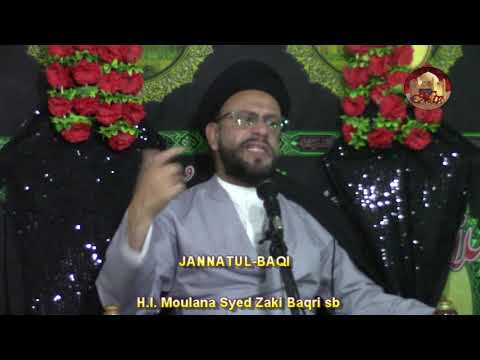 5th Majlis 6 Safar 1440 Hijari 16.10.2018 Topic: Let\'s Understand Our Children By H I Syed Muhammad Zaki Baqri - Urdu