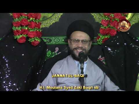 7th Majlis 8 Safar 1440 Topic: Let\\\'s Understand Our Children By Moulana Zaki Baqri - Urdu