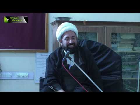 [1]Ezat aur Zillat ka mayar Quran O Ahlybat(A) ki Roshni mai | H.I Mirza Hussain Sabri - Urdu