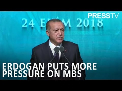 [3 November 2018] Erdogan: Order to kill Khashoggi 'came from highest levels of Saudi govt. - English