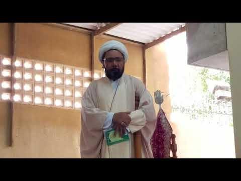Khutba e Roz e Eid 22 August 2018 By Moulana Muhammad Hussain Raeesi at Imam Bargah Mehfil e Murtaza Karachi - Urdu