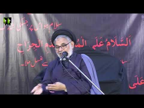 [Majlis] Topic: ولایتِ علی اور پلِ صراط|H.I Hassan Zafar | Safar 1440 - urdu