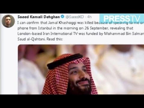 """[10 November 2018]  \""""Khashoggi revealed anti-Iran TV\'s funding\"""" - English"""