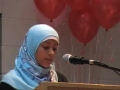 CASMO World Womens Day 2009 - Birthday of Hazrat Zahra SA - Youth Speaker Hibah Jafri - English