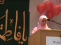 CASMO World Womens Day 2009 - Birthday of Hazrat Zahra SA - Youth Speaker Faizza Jawwad - English