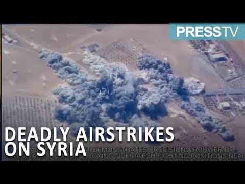 [14 November 2018]  Syria slams coalition deadly raids on Shaffa village - English