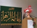 CASMO World Womens Day 2009 - Birthday of Hazrat Zahra SA - Sheikh Ibrahim Yaseen - English