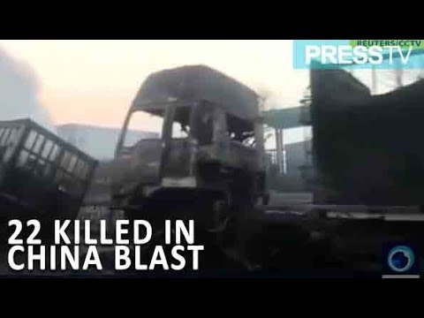 [28 November 2018] China: 22 killed in blast near chemical factory - English