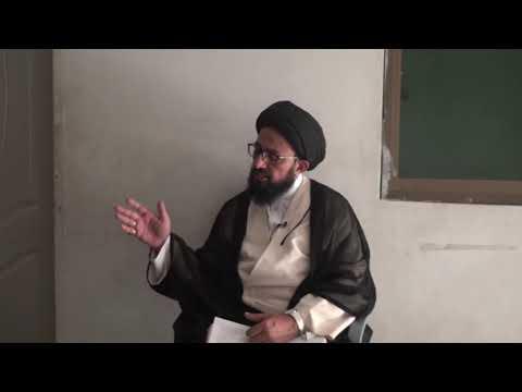 [Dars 2] Dushman Shanasi - دشمن شناسی | H.I Sadiq Raza Taqvi - Urdu