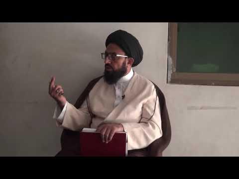 [Dars 3] Dushman Shanasi - دشمن شناسی | H.I Sadiq Raza Taqvi - Urdu
