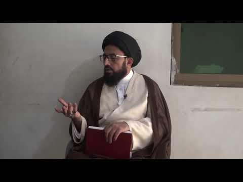 [Dars 4] Dushman Shanasi - دشمن شناسی | H.I Sadiq Raza Taqvi - Urdu