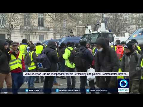 [16 December 2018] French protesters demanding more democracy less capitalism - English