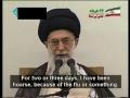 16thJune09 - Leader Ayatollah Khamenei Calls for Partial Recount of Votes - Farsi English Subtitles