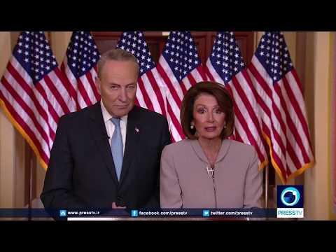 [9 January 2019] Trump blames democrats & demands wall funding - English