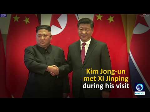[10 January 2019] North Korea's leader met with Chinese president - English
