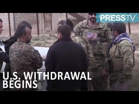 [12 January 2019] US says Syria withdrawal has begun; Russia doubtful - English