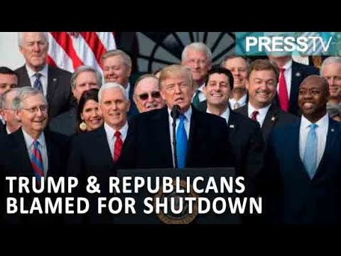[15 January 2019] Poll: Most Americans blame Trump, Republicans for longest govt. shutdown - English