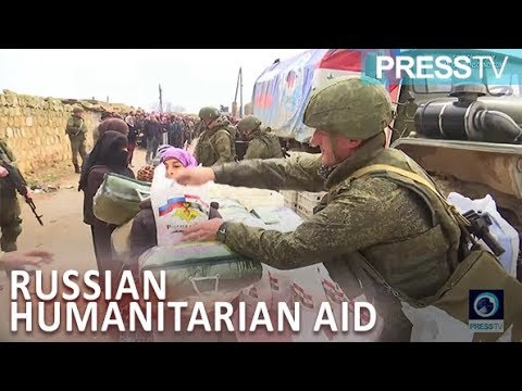 [17 January 2019] Russia continues to deliver humanitarian aid to Manbij residents - English