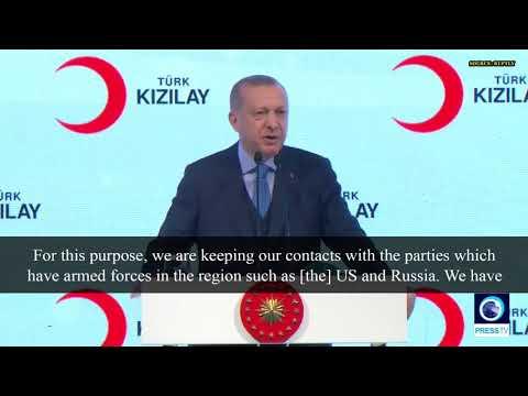 [29 January 2019] Erdogan vows to ensure 'territorial unity' in Syria - English