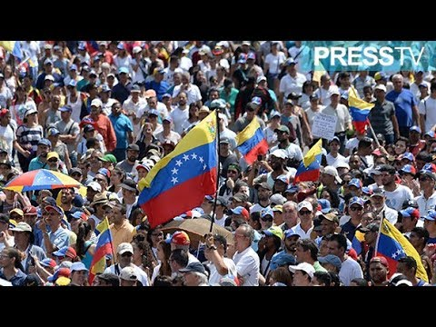 [03 Feb 2019] Anti-Maduro protesters take to streets in Caracas - English