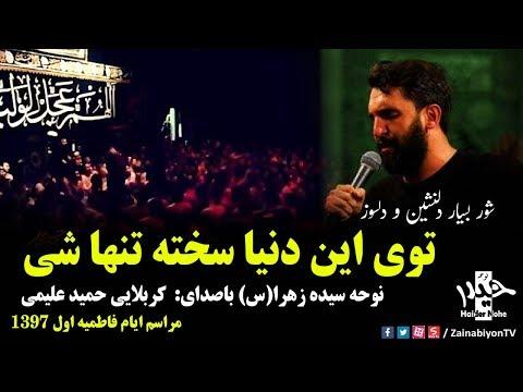 توی این دنیا سخته تنها شی (شور دلسوز) حمید علیمی | فاطمیه 97 | Farsi