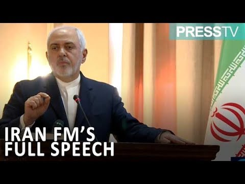 [13 Feb 2019] FM Zarif addressing ambassadors in Tehran at Institute for Political, Intl. Studies - English