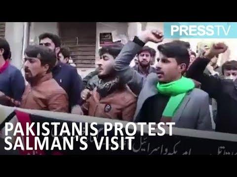[17 Feb 2019] Pakistanis protest Salman\'s planned visit - English